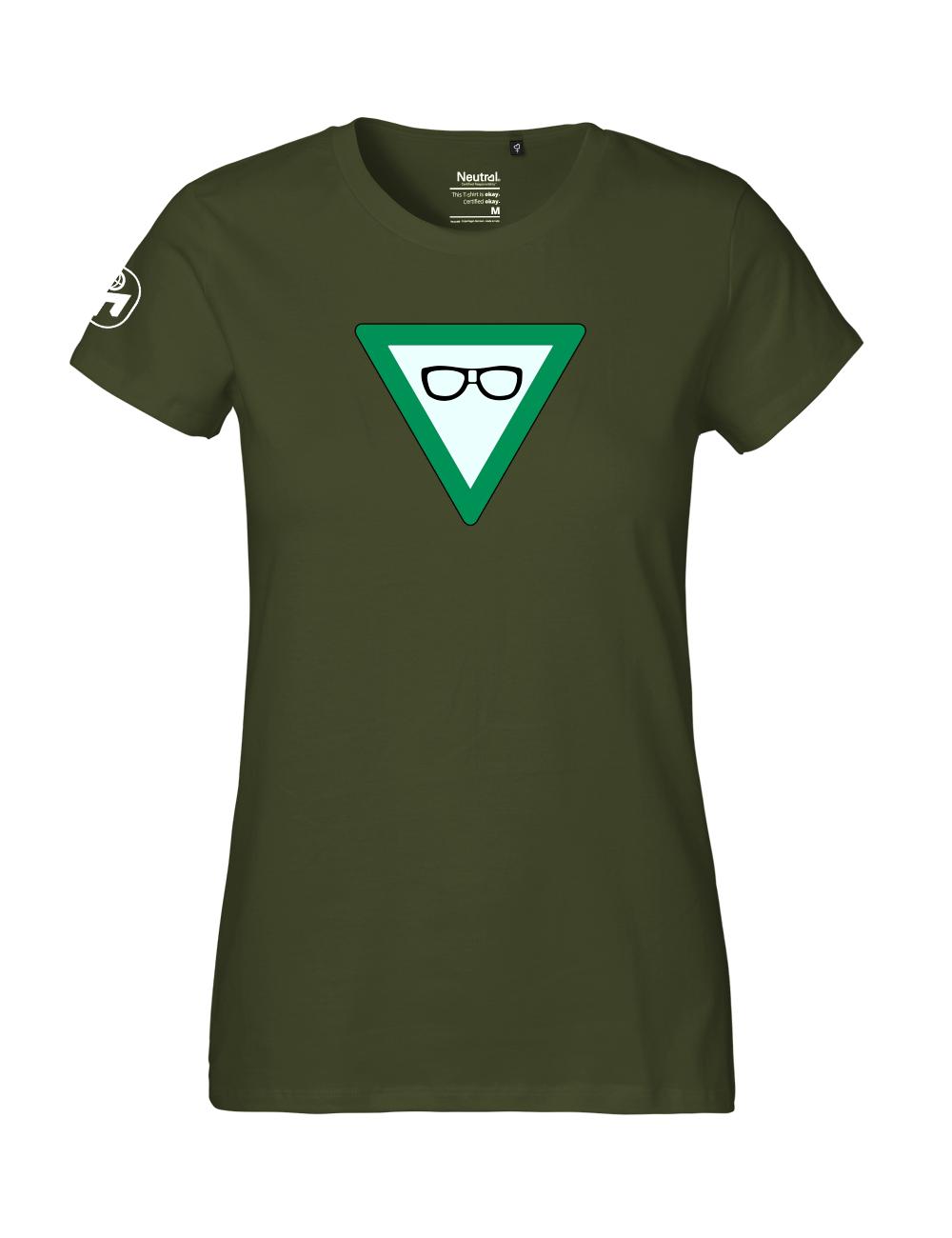 """T-Shirt Damen """"Nerdschutz"""" Premium"""
