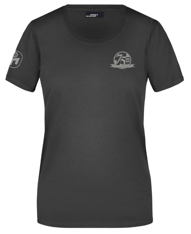 """T-Shirt Damen """"75. Geburtstag von Mensa"""" Standard"""