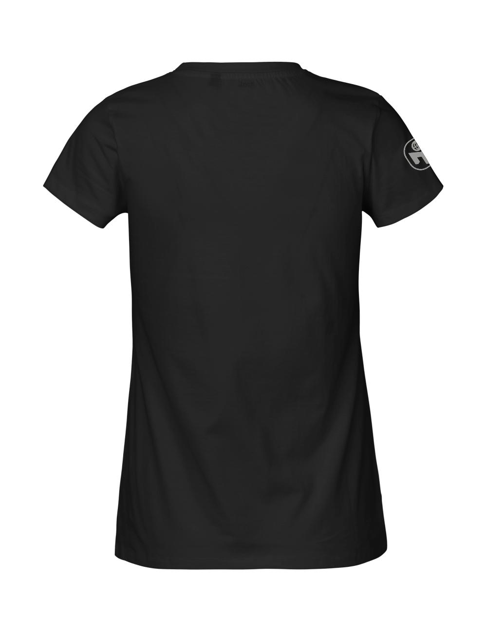 """T-Shirt Damen """"75. Geburtstag von Mensa"""" Premium"""