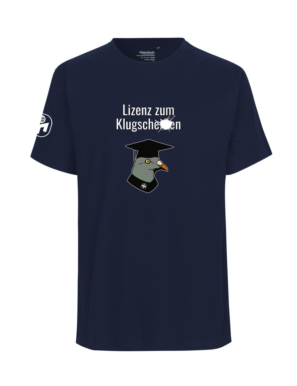 """T-Shirt Herren """"Lizenz zum Klugscheißen"""" Premium"""