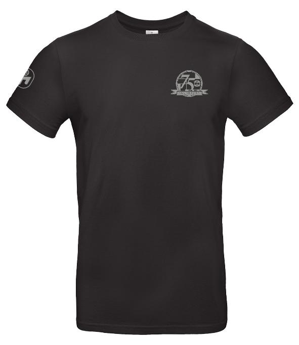 """T-Shirt Herren """"75. Geburtstag von Mensa"""" Standard"""