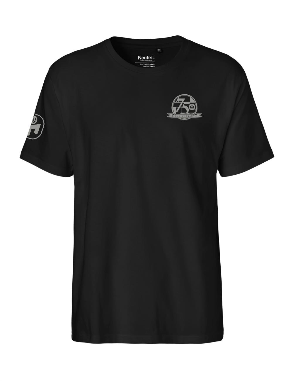 """T-Shirt Herren """"75. Geburtstag von Mensa"""" Premium"""